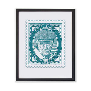 'I Don't Believe It!' Meldrew Stamp Print - film & tv
