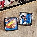 Comic Super Hero Cufflinks