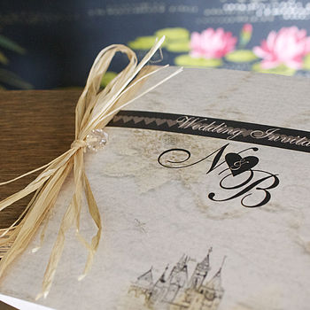Fairytale Castle Wedding Stationery Range