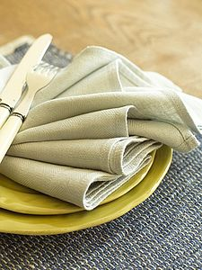 Plain Seam Linen Napkin Lara - table linen
