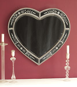 Classic Heart Mirror - mirrors