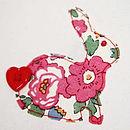 Personalised Bunny Name Embroidery Hoop Art