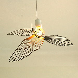Birdlight Light Shade - children's room accessories