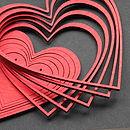 Wooden Heart Garland