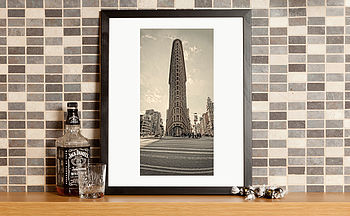 New York Flat Iron Building Fine Art Print