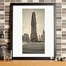 New York Flat Iron Building Fine Art Print
