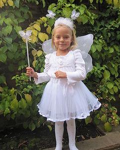 Angel Tutu And Wings Set