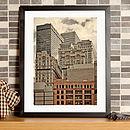 Manhattan Old And New Fine Art Print