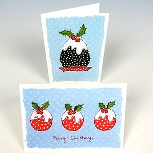 Big Pud Christmas Cards