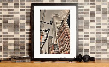 Manhattan New York Fine Art Print