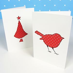 Festive Red Spot Christmas Cards - view all sale items
