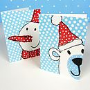 Festive Faces Christmas Cards