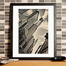 Manhattan New York Skyscraper Fine Art Print