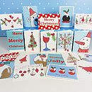 dots and spots Christmas cards