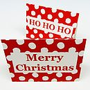 Festive Words Christmas Cards