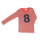 Stripe Number T Shirt