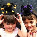 Top Hat And Spider Headband