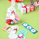 Santa And Reindeer Be Merry Treat Kit