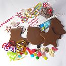Chocolate Christmas Decorations DIY Kit