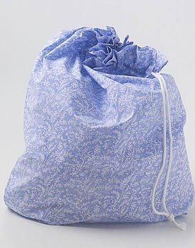Cotton Lavender Laundry Bag