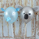 Set Of Six Animal Balloons