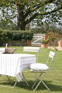 Pavilion Oilcloth Tablecloth - alfresco dining