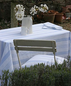 Pavilion Oilcloth - table linen