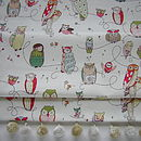Owl Blackout Roman Blind