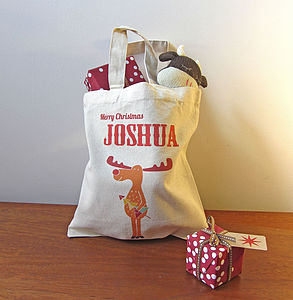 Personalised Christmas Gift Bag - stockings & sacks