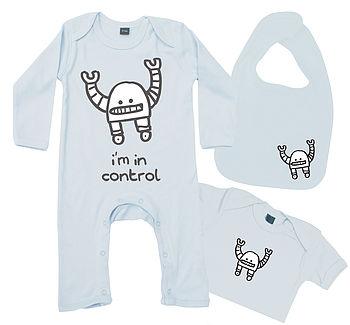 Baby Boy Gift Set - Control Robot