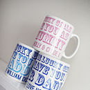Personalised 'Lucky' Mug