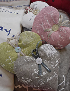 Postcard Lavender Heart - wedding favours
