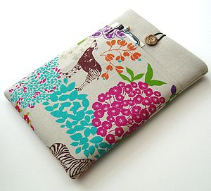 Animal Print Case With Pockets For IPad