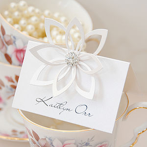 Floravita Place Card - table decorations
