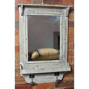 Reclaimed Wood Hall Mirror - home accessories