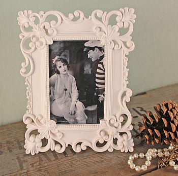 Fleur De Lis Decorative Photo Frame