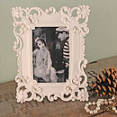 Fleur De Lis Decorative Photo Frame