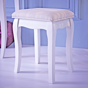 Loire Dressing Table Stool - furniture