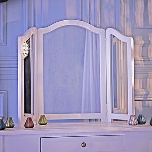Loire Three Panel Dressing Table Mirror - mirrors