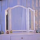 Loire Three Panel Dressing Table Mirror