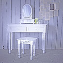 Belgravia Mirror Dressing Table And Stool