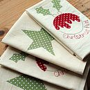 Christmas Pud Napkin Set