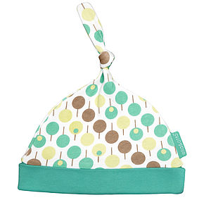 Green Baby Hat - babies' hats