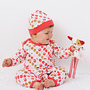Pink Lollipop Baby Hat