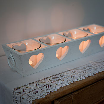 Decorative Heart Candle Holder