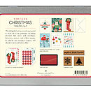 Retro Christmas Mailing Set