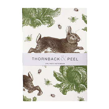 Rabbit And Cabbage Notebook