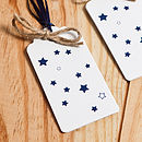 Recycled White 'These Wishes' Wrapping Paper
