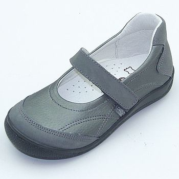 Grey girls shoes