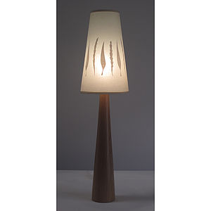 Autumn Leaf Classic Table Lamp - bedroom